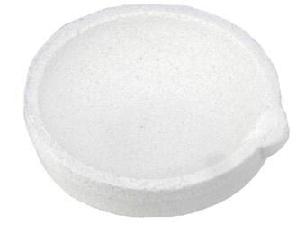 250 Gram 160 DWT Ceramic Alumina Crucible Dish Cup Melting Casting Refining Gold Silver