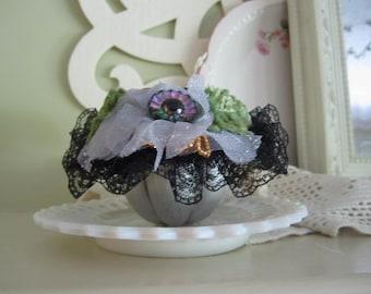 Handmade Pincushion - Victorian Pincushion - Gift for Seamstress