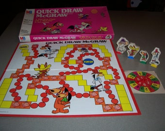 1980s Quick Draw McGraw Game