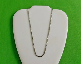 Vintage Silver Chain Necklace (Item 503)