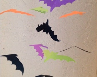 Halloween bat mobile