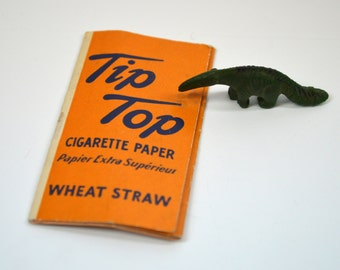 Tobacco Rolling Papers Tip Top Wheat Straw Cigarette Papers Vintage 1940s RARE