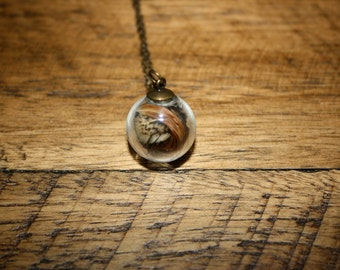 Feather Bulb Necklace