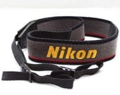 Original Nikon Shoulder Neck Strap For 35mm Film Rangefinder SLR DSLR Camera