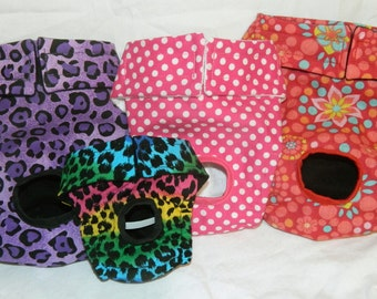 Dog diapers 6 - 18 inch waist in multiple colors- New Colors!