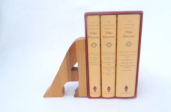 wooden bookend letter a shelf decor. Black Bedroom Furniture Sets. Home Design Ideas