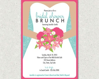 Watch more like Wording For Bridal Shower Brunch