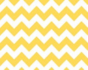 Riley Blake - 1 Yard Medium Chevron in Yellow