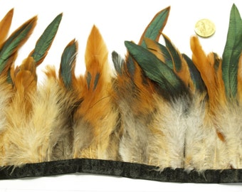 1 x Metre of  Natural Feather Trim by the metre #369