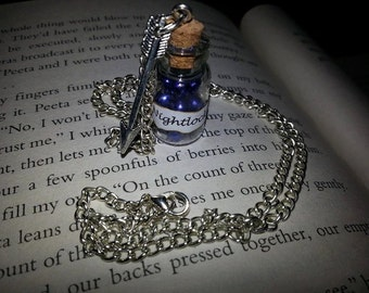 The Hunger Games inspired Nightlock necklace