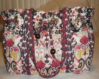 Tote Bag Diaper Bag, Patricia Bravo fabric