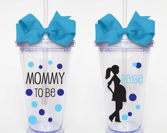 Mommy to Be - Acrylic Tumbler Personalized Cup