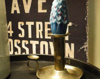 Antique Push up Chamberstick Candlestick for Accent Lighting Circa 1900