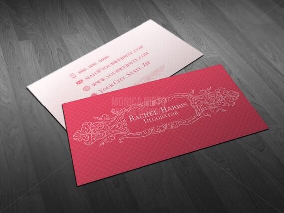 Interior decorator business cards party and events decorator il570xn colourmoves