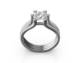 1.25 Ct Diamond Engagement Ring