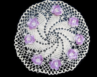 Hand crafted Crochet doiley 1940's 50's.......No. 2014631-F1