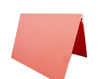 Coral Place Cards 25 pack