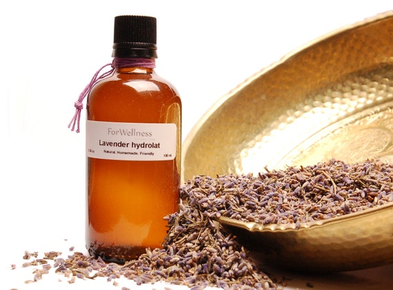 Home made Lavender Hydrolat Floral Water Natural Hand-made Vegan