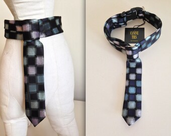 "Dog Neck Tie Collar - Medium (12"" - 20"")"