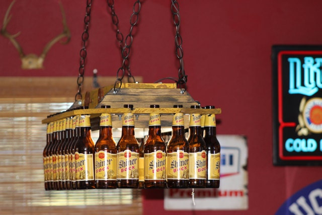Exceptionnel Beer Bottle Pool Table Light