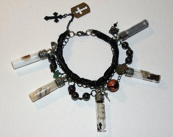 Vampire Hunter Charm Bracelet.