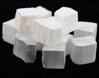 Selenite Cubes (Bulk Sale 7 Pieces)
