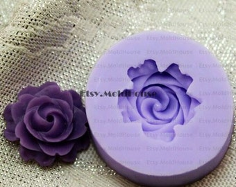 Flower Flexible Silicone Mold Silicone Mould Candy Mold Chocolate Mold Soap Mold Polymer Clay Mold Resin Mold F0147