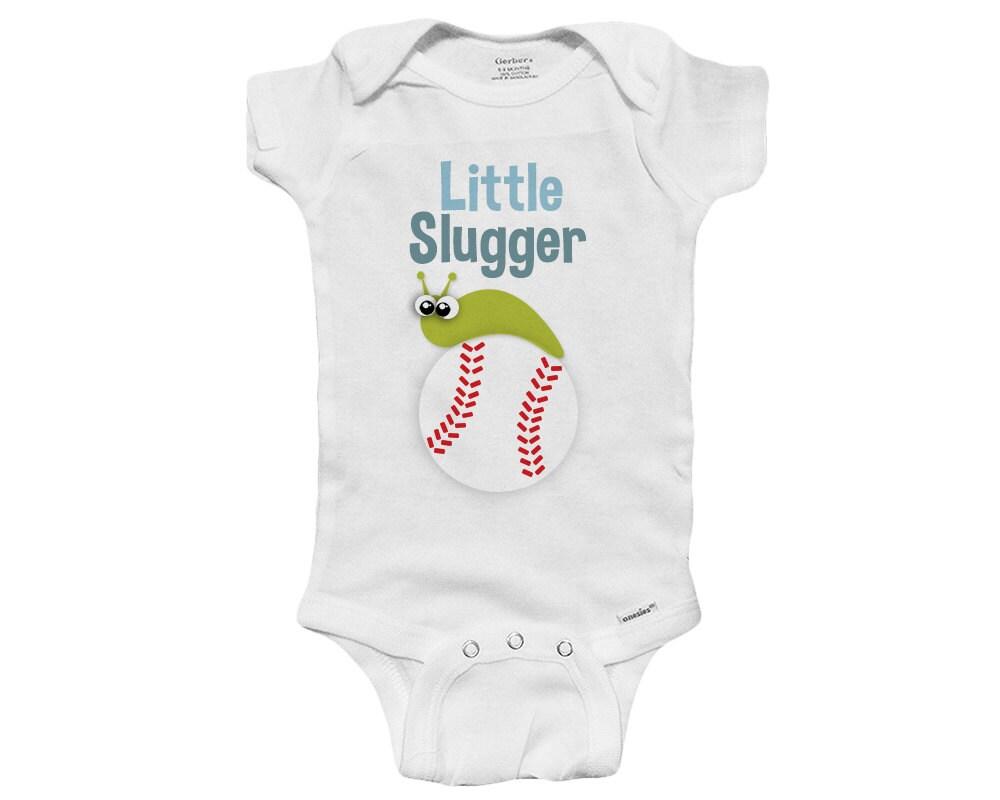 Little Slugger Bug Baby Onesie Bodysuit