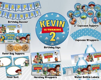Toy Story Printable Party Package