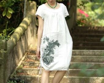 maxi dress summer dress womens plus size dress maxi dresses summer dresses hand painted dress womens summer dresses unique dress