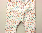 Heart baby leggings baby girl pants toddler cuff leggings rainbow outfit girl gifts baby pants stretch cute girl clothes organic cotton