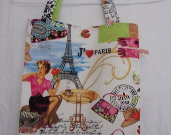 Tote Bag with French design