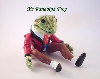 Beautiful Mr Frog collectable character figurine