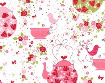 Strawberry Tea Party- Michael Miller