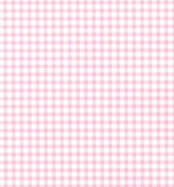 Small pink gingham check shabby cottage country chic - Cuadros shabby chic ...