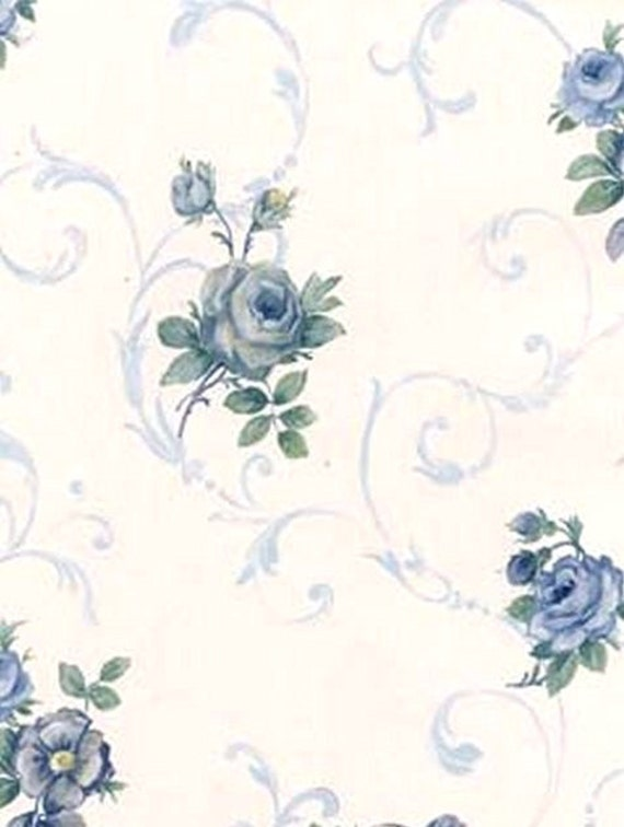 Blue And White Rose Wallpaper Blue And White Rose Wallpaper