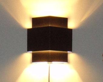 Wall Corner Light : Triple Rectangle Wall Light Fixture by JesssCreativeCorner