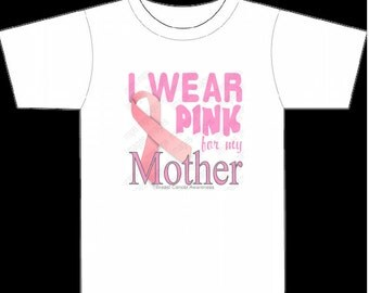 Breast Cancer Awareness Ribbon Logo for Mother Trending now Instant Digital Download PNG & JPG Images 300 dpi 7.50 x7.50 in Small Commercial