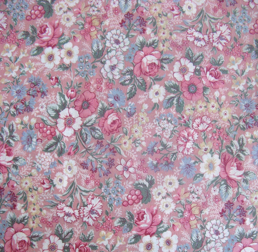 vintage home decor fabric vintage joan kessler floral cotton fabric home decor quilt 11797