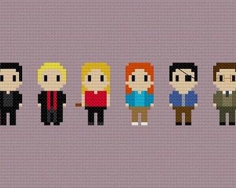Buffy The Vampire Slayer Cross Stitch Pattern
