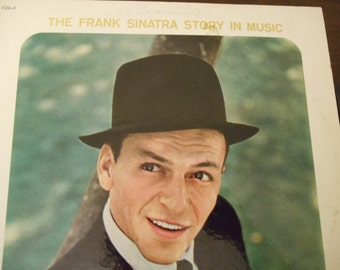 Frank Sinatra- The Frank Sinatra Story In Music-vinyl record