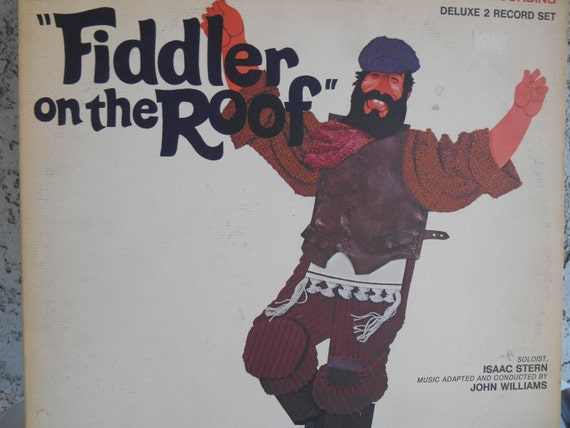 Fiddler On The Roof Original Motiion Picturre Soundrtrack