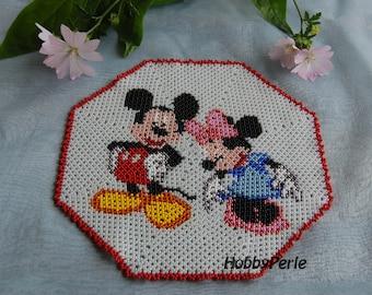 Mickey & Minnie Doily Pattern