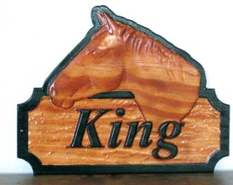 Horse Name Plates Horse Stall Signs Personalized Horse Tack Room Plaque Horse Name Tag Barn Door Name Plates Show Horse Tack Decor