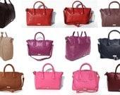 Bag Leather Style tote  Shopper Laptop  Designer SALE