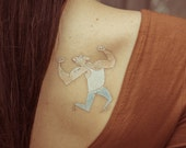 TEMPORARY TATTOO - strong dude