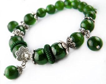 Elegant Natural Crystal Bracelets