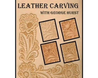 56755- Basic Leather Carving with George Hurst Leather craft Instructional DVD