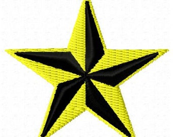 North Star Mini Embroidery Design