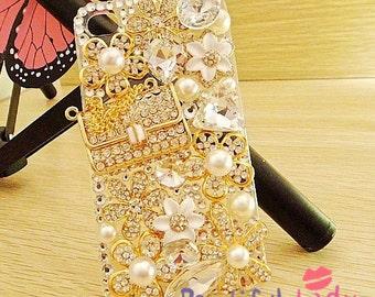 Sparkly Iphone 5 Bling Case Swarovski Crystal Sunflower Iphone 5 Case Iphone 4 4s Case Samsung